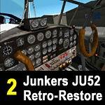 FS2004                   PART 2 of the JU52 RETRO-RESTORE PROJECT