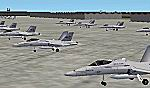 ADDON                   PACK for KNTU & KNFE Static aircraft