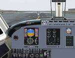 FS2004                   King Air All Glass Panel.