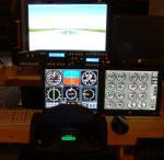 King Air 350 Panels for Multi Monitors