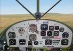 FS2000                   Panel--Cessna L-19 Bird Dog aircraft v1.0