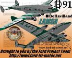 DH91 Albatross - LAMSA Livery