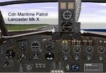 FS98                   Canadian Lancaster Maritime Patrol panel