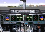 MD11                   panel jumpseat view