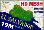 19M HD Mesh for  El Salvador
