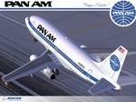 FS2004                   Tinmouse II Boeing 737-275 Pan Am's First B737-200 (N380PA)                   Textures only