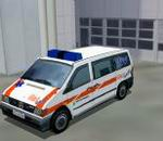 FS2000                   / FS 2002 Mercedes Vito, Notarzt 144 Swiss rescue scene ground                   vehicle