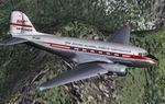 FS2002                   Douglas DC-3 New zealand National Airways Corporation