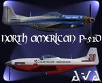 FS2004/2002                   North American P-51D Miss Ashley II & Power House III (Fictional)                   Package (Updated).