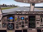 B767-300                   Realistic Panel for FS2000