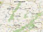 FS2004 Flight Plan for OB-11 Richmond Kentucky