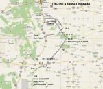 FS2004 Flight Plan for OB-18 Junta Colorado
