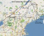 FS2004 Flight Plan for OB-27 Ashland Maine and Fort Drum New York