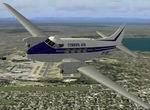 FS2004                   de Havilland DH104 Dove Cimber Air OY-DHZ Textures only