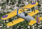 FS2000                   Boeing P-12D pursuit plane