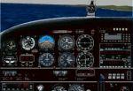 Piper                   Cherokee 235 panel for FS98/fs2000