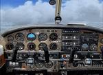 "FSX                     - Piper PA28R 2D ""beige"" panel"