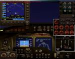 FSX Panel for modern twin-engine turboprop