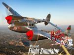 FSX Lockheed P-38 Lightning Splashscreen
