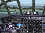 FS2004 panel for B-36 bomber