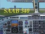 FS2002                     SOFTIRES Express Saab 340a & panel
