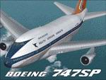 """FS2004                   Project Opensky Boeing 747SP South African Airways ZS-SPC """"Maluti""""                   and ZS-SPE""""Hantam"""