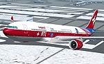 """FS2004                   Airbus A330-300 PW RTL """"Cooperation in Outer Space"""""""