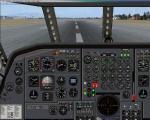 Sud Aviation SE 210 Caravelle 2D Panel