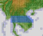 FSX ASTER_imp GDEMv2 30m mesh for South East Asia pt4