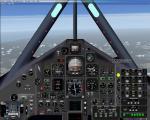 Lockheed SR71 Blackbird 2D panel