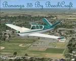 FSX                   Beechcraft Bonanza 35 V Tail.