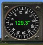 Magnetic Compass gauge with selectable DIGITAL display