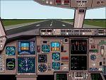 FS2000                   Boeing 767-200 panel V3.