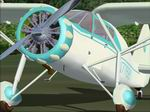 FS2004                   Fairchild 24W with Bubbled Cowling.