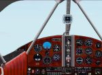 """FS2000                     Panel FS2000 Panel for the Beechcraft D-17 """"Staggerwing"""""""