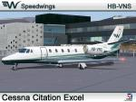 Speedwings Cessna Citation Excel (HB-VNS)