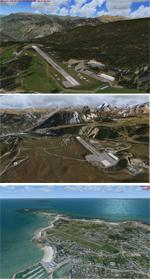 French Alps Airports - FSX/Tile Proxy
