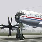 FS2004                     Tupolev Tu-114 base package