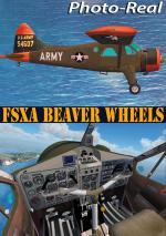 FSXA DHC-2 Beaver Wheeled Version Photoreal Package