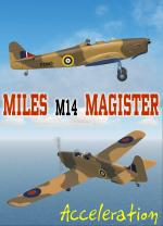 FSX Miles M14 Magister RHAF Package