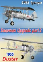 FSX Stearman Kaydet Duster/Sprayer Upgraded Package 2