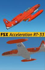 FSX Acceleration Lockheed RT-33A RHAF Package