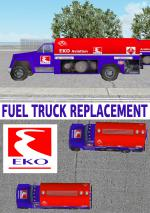 Airport  Fuel Truck EKO Replacement Textures