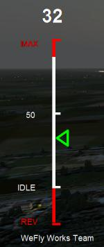 WeFly Throttle (On-Screen)