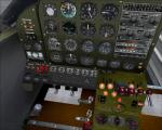 Civilian Beech A-11 New FSX VC and Textures (updated and Fixed version)