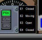 Door Open/Close Gauge