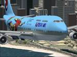 World                   Cup 2002 Boeing 747-400. Default replacement textures