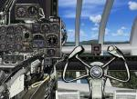 FSX Panel for Northrop XB-35 Flying Wing