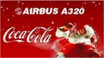 Airbus A320 Coca Cola Christmas Package