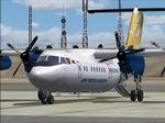 FS2004                   De Havilland Dash 7-100 YV1184 Linea Turistica Aereotuy Textures                   only